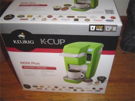 Keurig Mini Plus Box