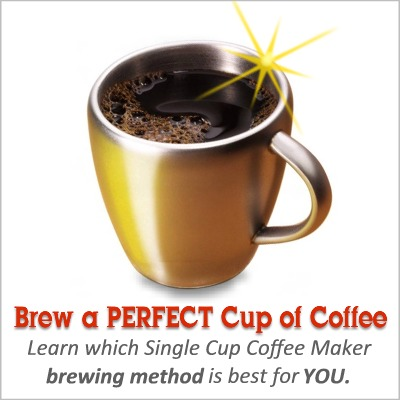 Single Cup Coffee Maker Brewing Methods