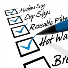 Keurig checklist