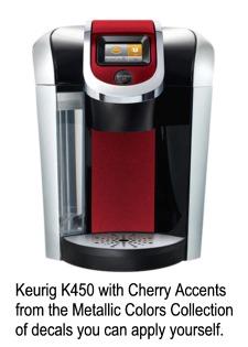 Keurig 2.0 with Red Decals